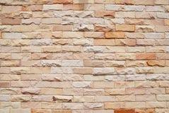 Neue Backsteinmauer lizenzfreie stockfotografie
