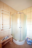 Neue Badezimmerdusche Lizenzfreies Stockbild