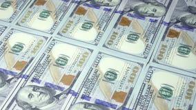 Neue Banknoten stock footage