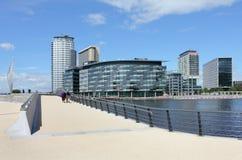 Neue BBC-Studios und Büros Lizenzfreies Stockbild