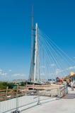 Neue Belgrad-Brücke auf Fluss Sava 2 Lizenzfreies Stockbild