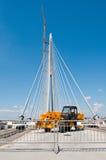 Neue Belgrad-Brücke auf Fluss Sava 3 Stockbilder