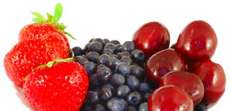 Neue berrys Lizenzfreies Stockfoto