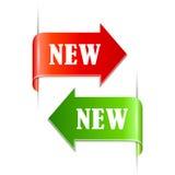 Neue Bänder eingestellt Lizenzfreie Stockfotos
