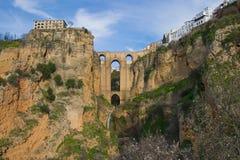 Neue Brücke von Ronda Stockfotografie