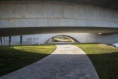 Neue Brücke Zamoras Stockfotografie