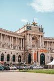 Neue Burg muzea w Wiedeń, Austria zdjęcie royalty free