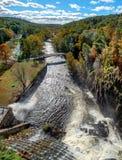 Neue Croton-Verdammung, Park des Croton-Auf-Hudsons, Croton-Schlucht, NY USA stockfotografie