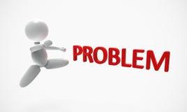 Neue 3D Leute - Problem Stockbild