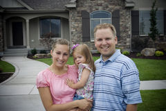 Neue Eigenheimbesitzer Stockfotografie