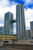 Neue Eigentumswohnungen Torontos Stockfotografie
