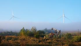 Neue Energieära kommt Stockfoto