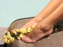 Neue Füße Stockfotos