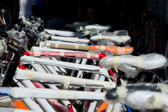 Neue Fahrräder Lizenzfreie Stockfotos