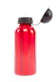 Neue Flasche des roten Wassers Stockfotografie