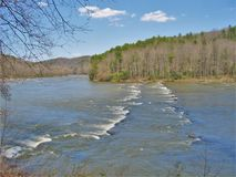 Neue Fluss-Spur in Virginia lizenzfreie stockfotografie