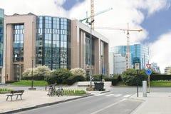 Neue Gebäude in Brüssel. Lizenzfreies Stockbild