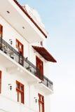 Neue Gebäude in Casco Viejo Lizenzfreies Stockbild