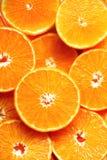 Neue geschnittene orange Fruchtbeschaffenheit Makro, Draufsicht, Kopienraum Dieses ist Datei des Formats EPS8 Saftiger Orangenhin Lizenzfreies Stockbild