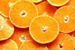 Neue geschnittene orange Fruchtbeschaffenheit Makro, Draufsicht, Kopienraum Dieses ist Datei des Formats EPS8 Saftiger Orangenhin Lizenzfreies Stockfoto