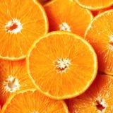 Neue geschnittene orange Fruchtbeschaffenheit Makro, Draufsicht, Kopienraum Dieses ist Datei des Formats EPS8 Saftiger Orangenhin Lizenzfreie Stockbilder
