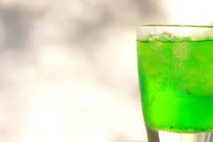 Neue Getränke mit ice Stockfoto