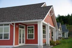 Neue Häuser Lizenzfreie Stockfotos