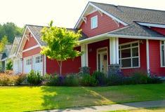 Neue Häuser Lizenzfreie Stockbilder