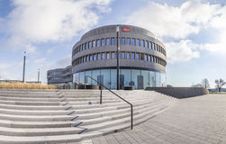 Neue Hauptsitze berühmten Kamera manufactur Leitz in Wetzlar lizenzfreie stockfotos