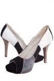 Neue high-heeled Schuhe getrennt lizenzfreie stockfotos