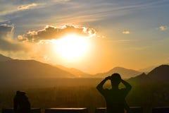 Neue Hoffnungen der neuen Tagesneuen Träume Stockfotografie