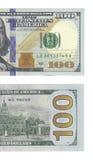 Neue hundert Dollarschein lizenzfreie abbildung