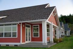 Neue Häuser Stockbilder