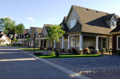 Neue Häuser Lizenzfreies Stockfoto