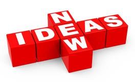 Neue Ideen Lizenzfreies Stockbild