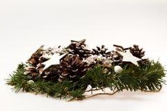 neue Ideen, das Haus zu verzieren dieses Weihnachten Ð- Geschenk in der Verpackung Stockfoto