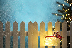 neue Ideen, das Haus zu verzieren dieses Weihnachten Lizenzfreies Stockfoto