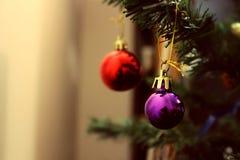 neue Ideen, das Haus zu verzieren dieses Weihnachten Stockbild