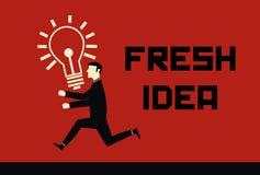 Neue Ideen-Zeichen Lizenzfreie Abbildung