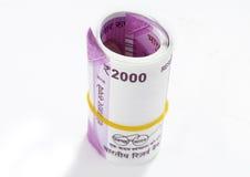 Neue indische Banknoten Lizenzfreie Stockfotografie