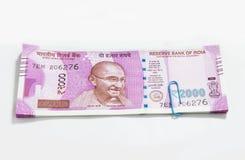 Neue indische Währung Lizenzfreies Stockfoto