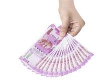 Neue indische Währung Stockfotografie