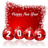 Neue Jahre des Hintergrundes 2015 Lizenzfreie Stockfotografie