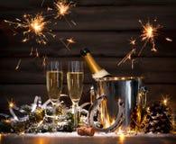 Neue Jahre Feier Stockfotografie