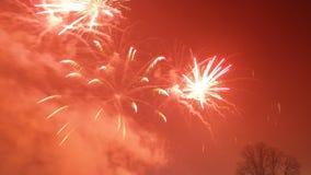 Neue Jahre Feuerwerke Stockbilder