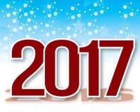 neue Jahre Hintergrund stock abbildung