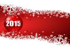 2015 neue Jahre Illustration Lizenzfreies Stockfoto