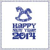 Neue Jahre Karte Stockbilder