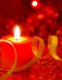 Neue Jahre Kerzen- Stockfotografie