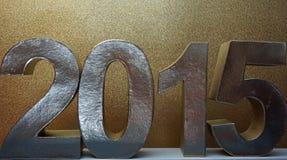 Neue Jahre Nacht Lizenzfreies Stockfoto